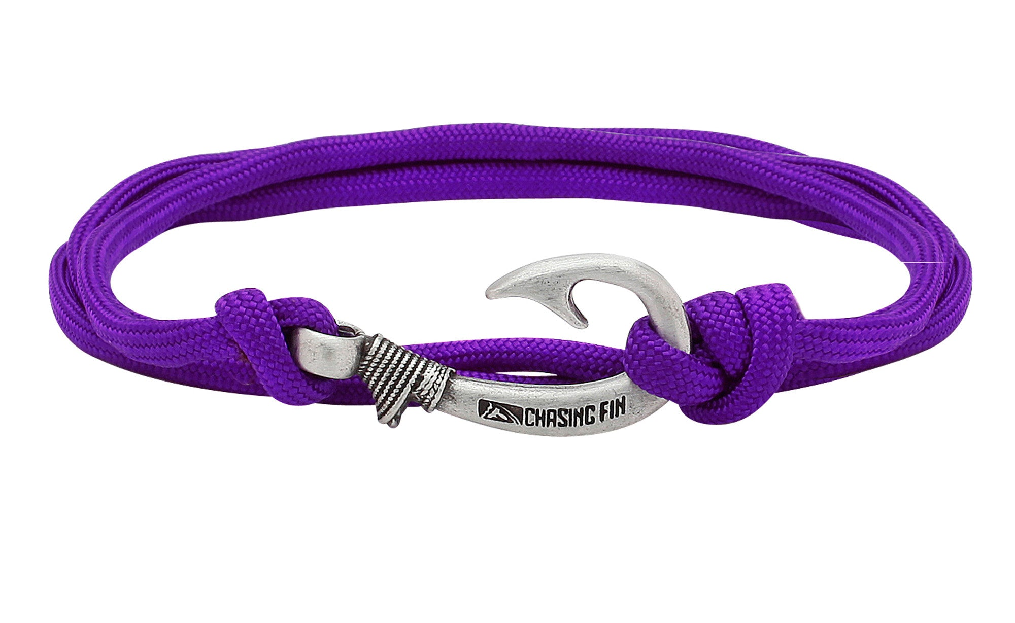 Purple Fish Hook Bracelet