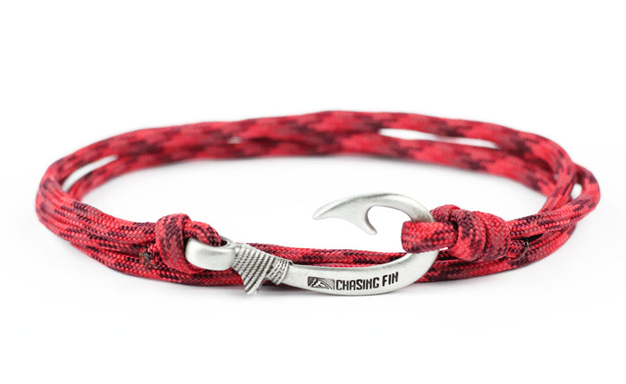Red Blend Fish Hook Bracelet