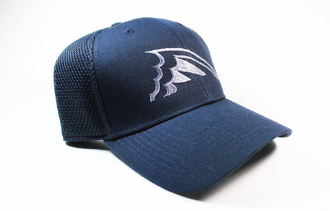 Solid Navy Fitted Hat