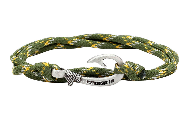 Swamp Camo Fish Hook Bracelet