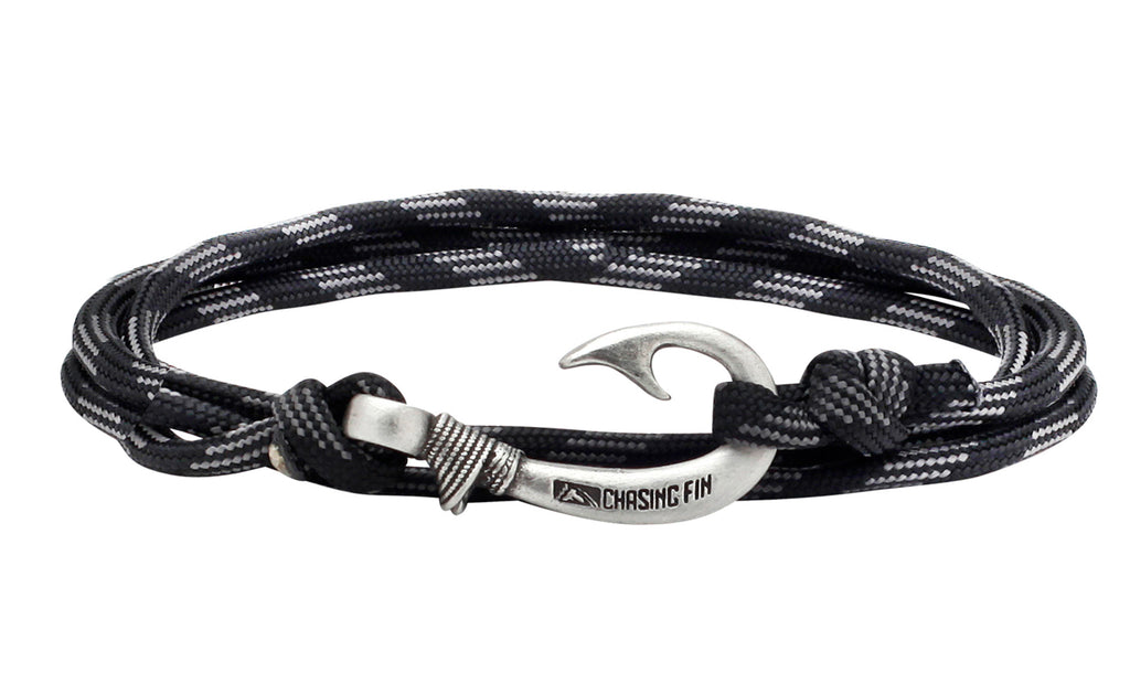 Touch of Gray Fish Hook Bracelet