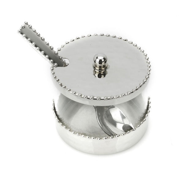 Luxe Honey Server Silver