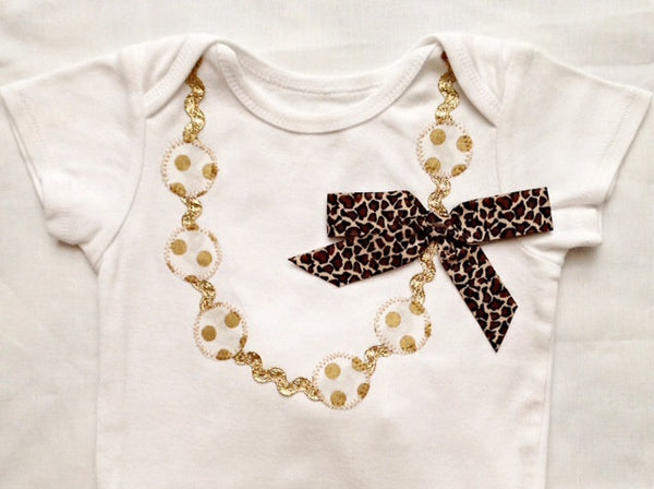 Onesie Necklace