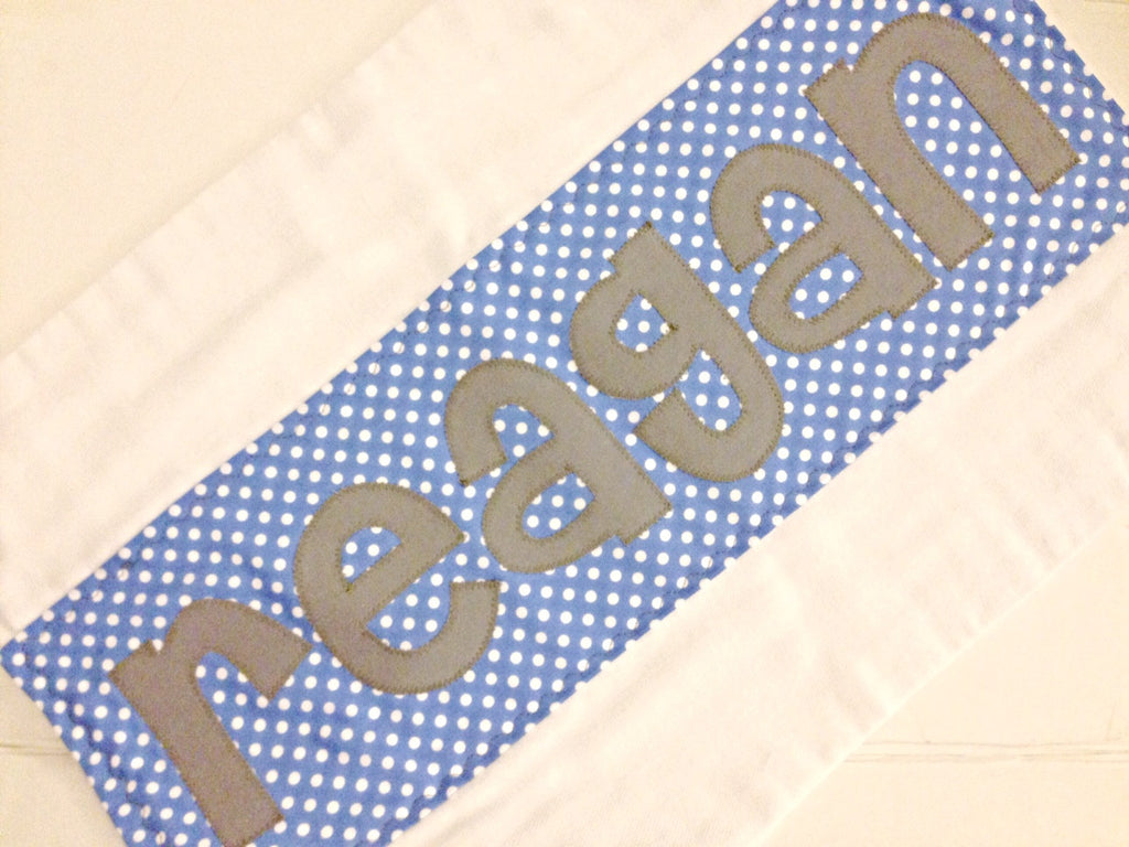 Burp Cloth Name