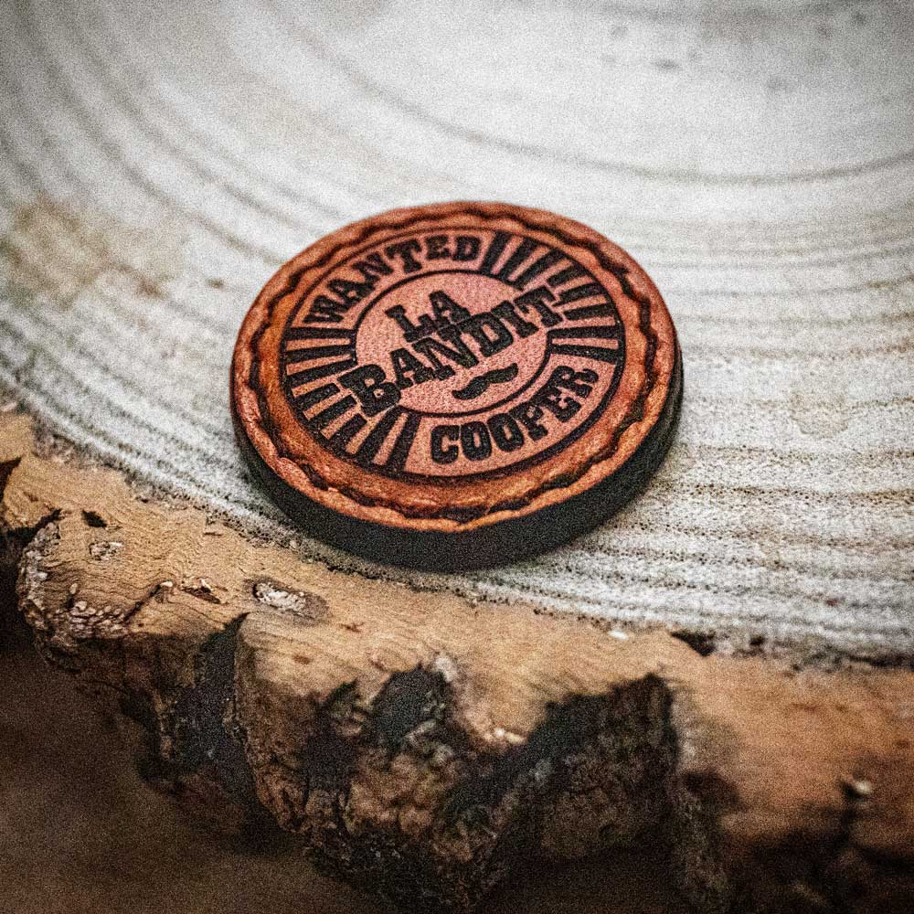 La Bandit // Personalised Leather Golf Ball Marker
