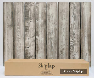 SkipLap Circle Sawn Finish