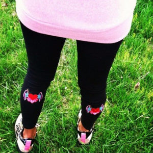 Black Fly Leggings