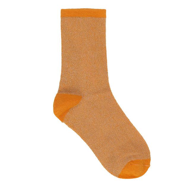 BeckSöndergaard Socken Dina Solid in Orange 1