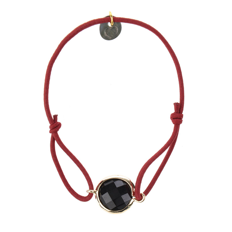 lua accessories Armband Leah Gold in Marsala 1