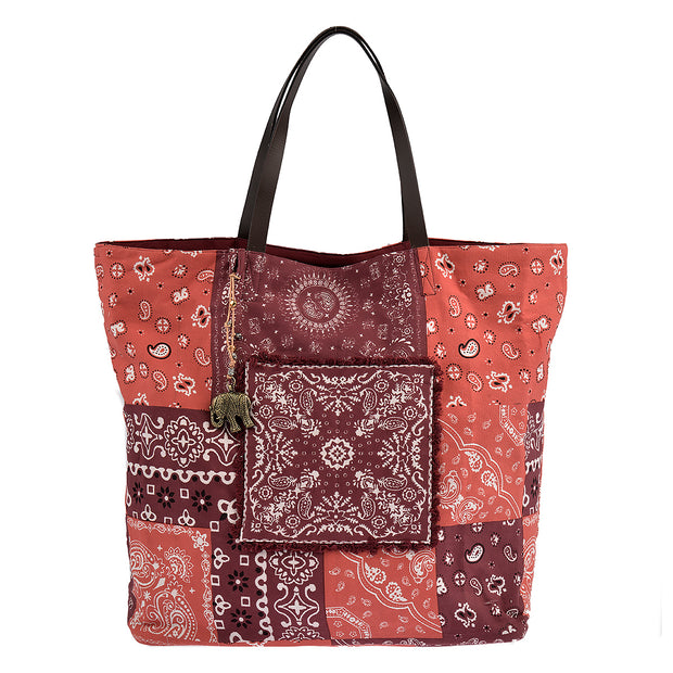 ANOKHI Shopper Shakur in Rot