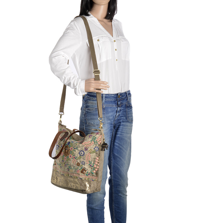 ANOKHI Shopper Ivory in Taupe