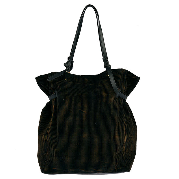 ANOKHI Shopper Floressa in Schwarz