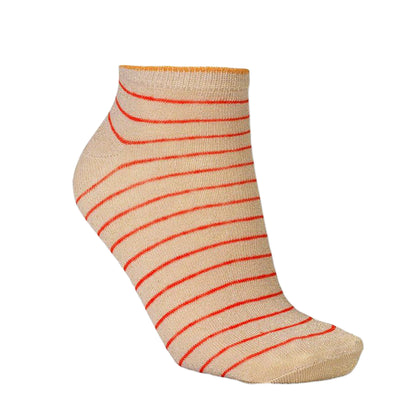 BeckSöndergaard Füßlinge Dollie Stripe Red