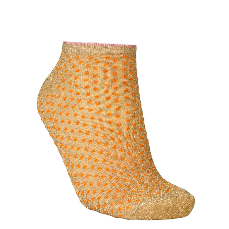 BeckSöndergaard Füßlinge Dollie Dot Orange