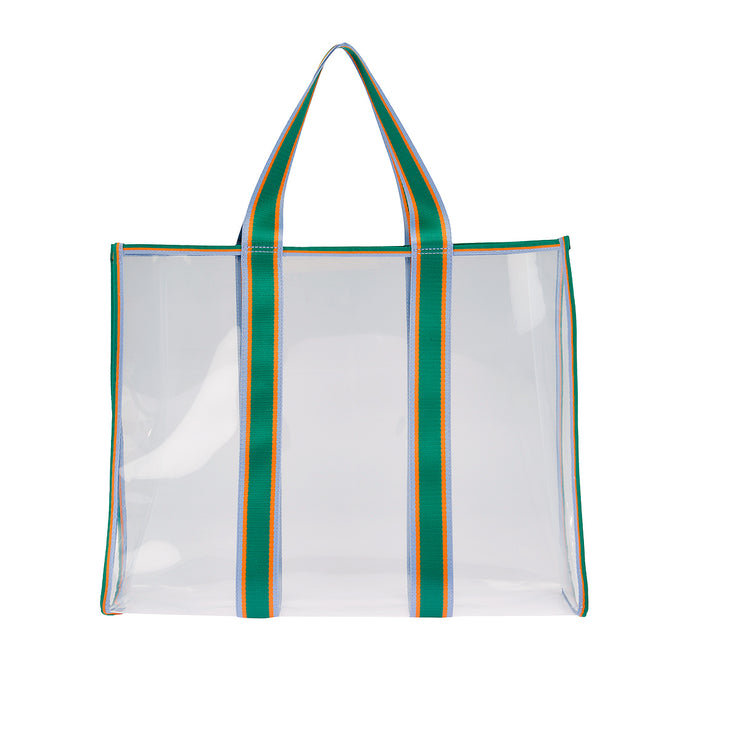 BeckSöndergaard Shopper Matria in Clear Green 1