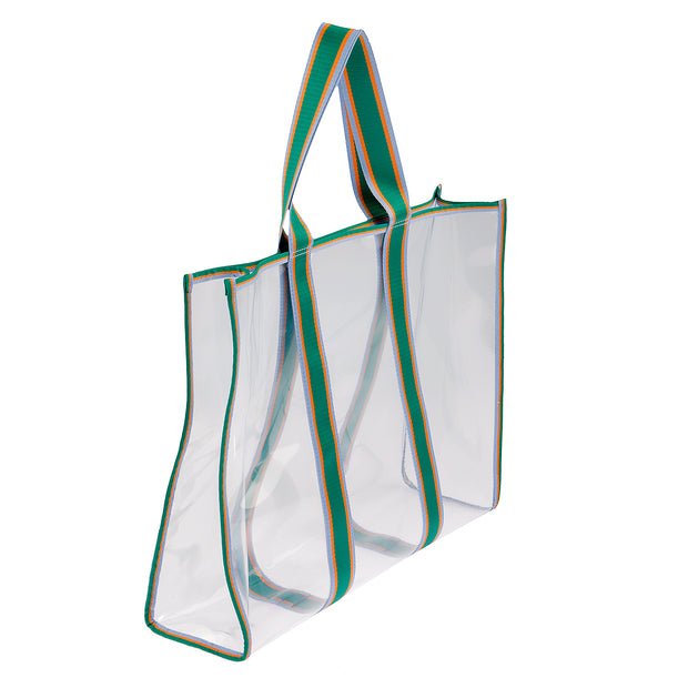 BeckSöndergaard Shopper Matria in Clear Green