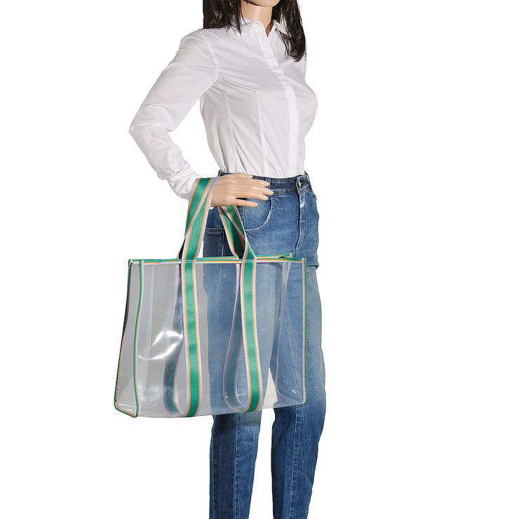 BeckSöndergaard Shopper Matria in Clear Green 5
