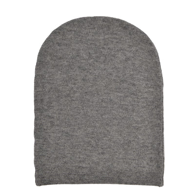 BLONDE No.8 Beanie in Grau 1