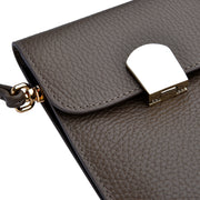 CHI CHI FAN Flap Bag Hoch in Braun