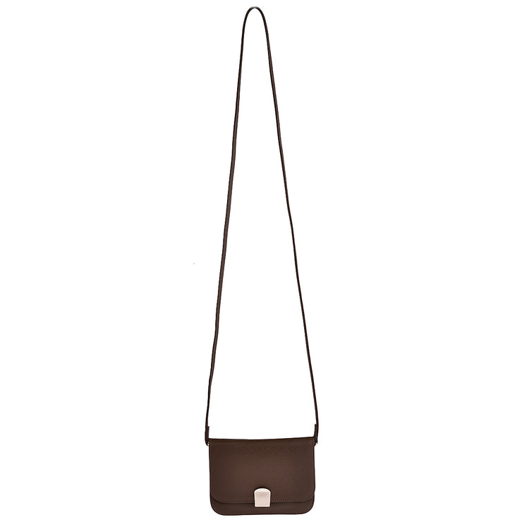 CHI CHI FAN Flap Bag Quer in Braun 5