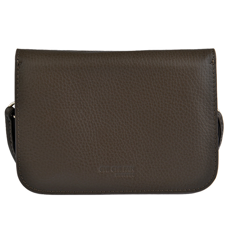 CHI CHI FAN Flap Bag Quer in Braun 6
