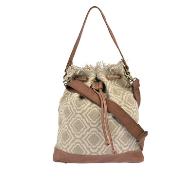 DESIDERIUS Bucket Bag Loona in Beige/Mauve