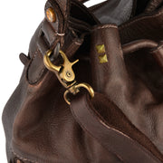 DESIDERIUS Bucket Bag Chloe in Dunkelbraun 8