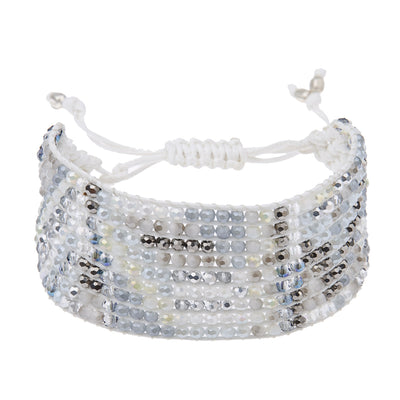Ananda Fashions Armband in Weiss
