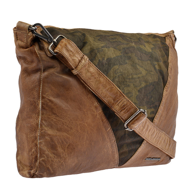 FREDsBRUDER Beuteltasche Arrow Casual in Braun