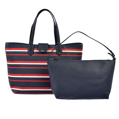 LIU JO Shopper New Kos in Blau gestreift