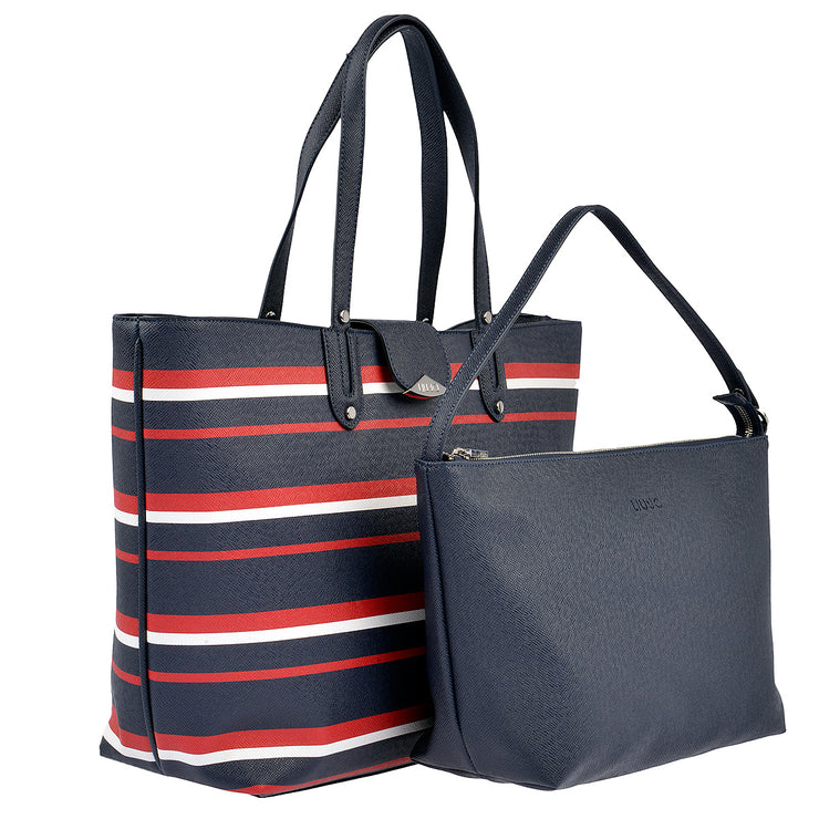 LIU JO Shopper New Kos in Blau gestreift 2