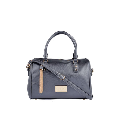 LIU JO Bowling Bag in Blau Metallic