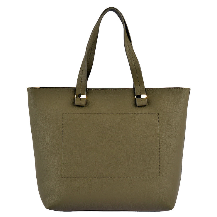 LIU JO Shopper Orizzontal in Khaki 6