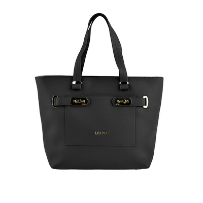 LIU JO Shopper Orizzontal in Schwarz 1