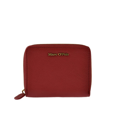Marc O'Polo Portemonnaie Zip Around in Rot