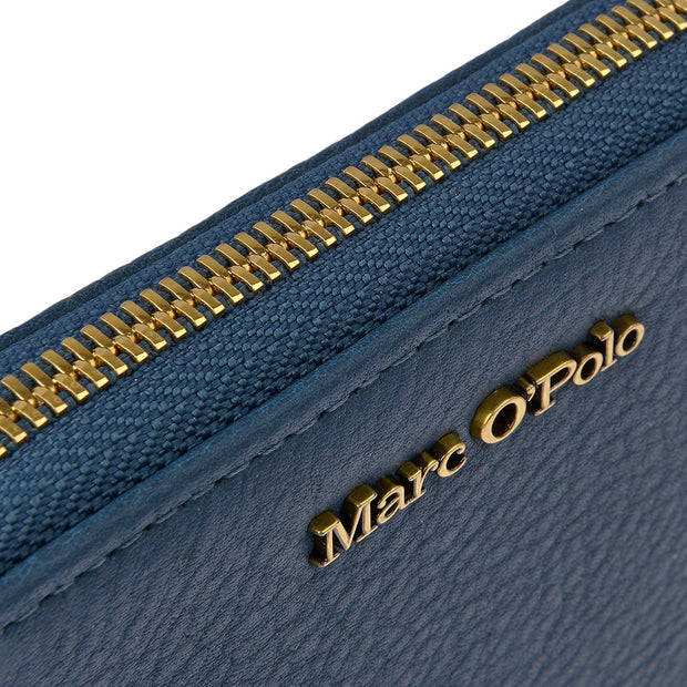 Marc O'Polo Portemonnaie Zip Around in Petrol