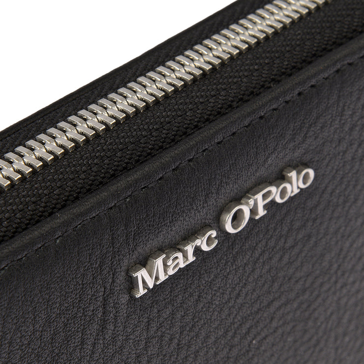 Marc O'Polo Geldbörse Zip Around in Schwarz 3