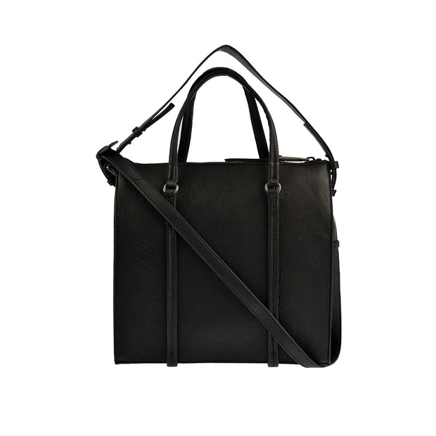 Marc O'Polo Shopper Luxury Suede in Schwarz 1