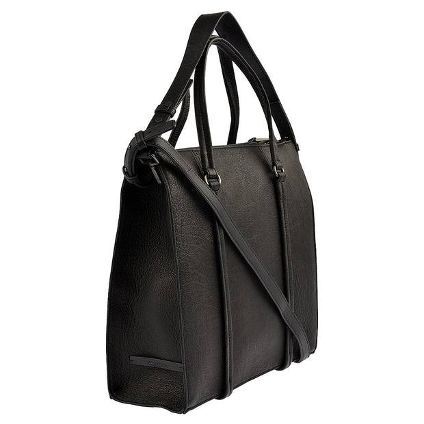 Marc O'Polo Shopper Luxury Suede in Schwarz 2