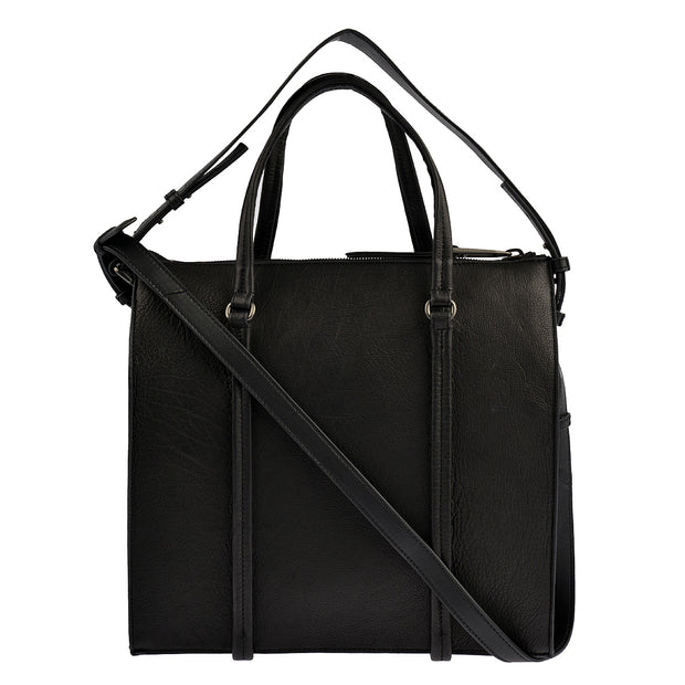 Marc O'Polo Shopper Luxury Suede in Schwarz 3