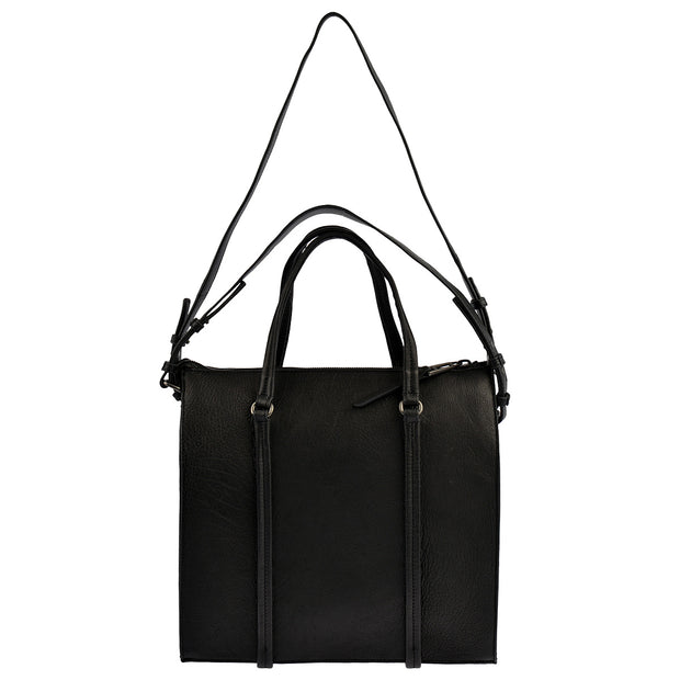 Marc O'Polo Shopper Luxury Suede in Schwarz 6