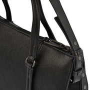 Marc O'Polo Shopper Luxury Suede in Schwarz