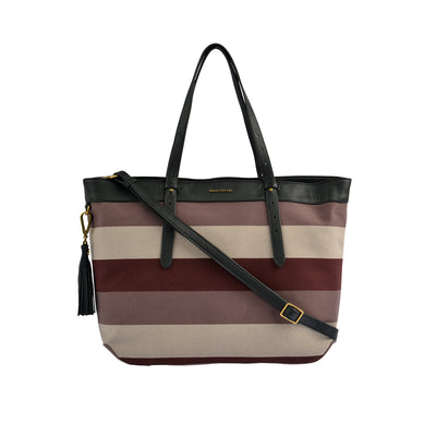 Marc O'Polo Shopper Stripy Canvas 1