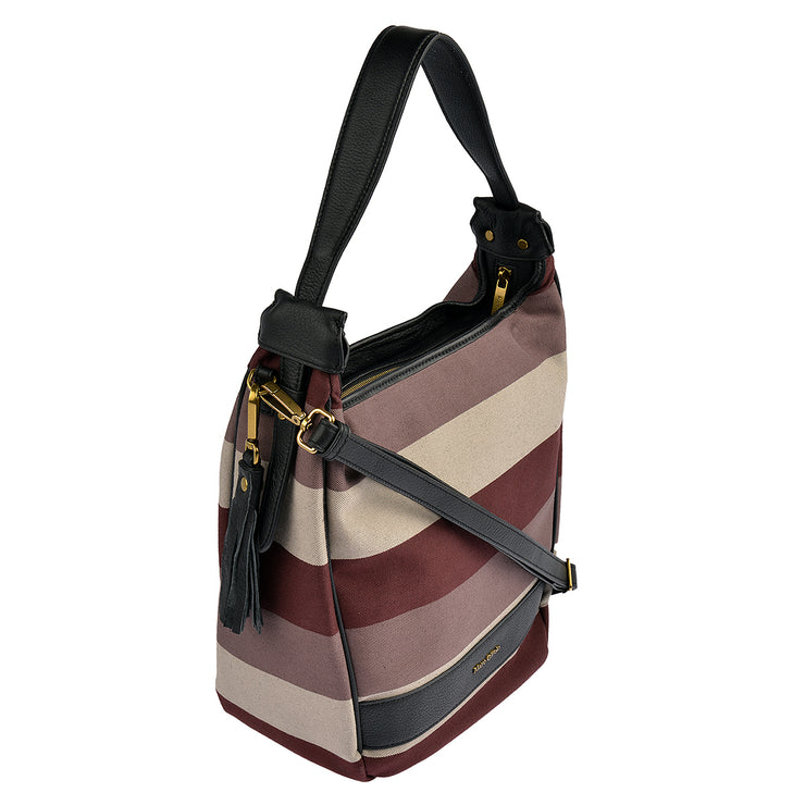 Marc O'Polo Beuteltasche Stripy Canvas 2
