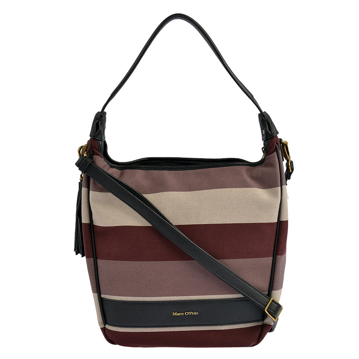 Marc O'Polo Beuteltasche Stripy Canvas 3
