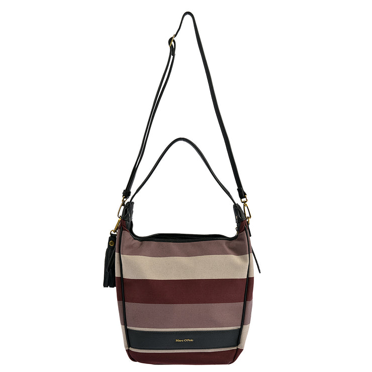 Marc O'Polo Beuteltasche Stripy Canvas 6