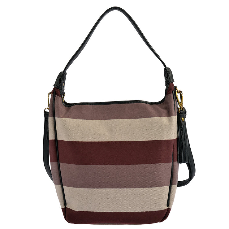 Marc O'Polo Beuteltasche Stripy Canvas 7