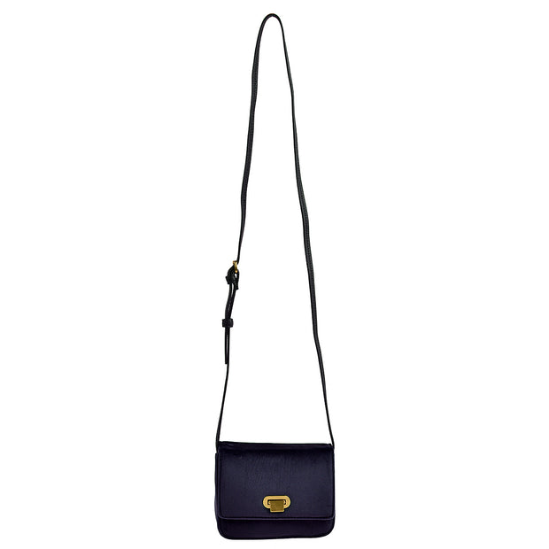 Marc O'Polo Crossbody Bag Samt in Blau 6