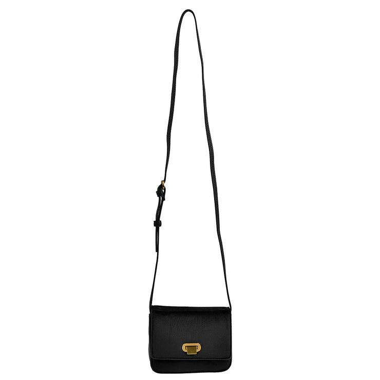 Marc O'Polo Crossbody Bag Samt in Schwarz 6