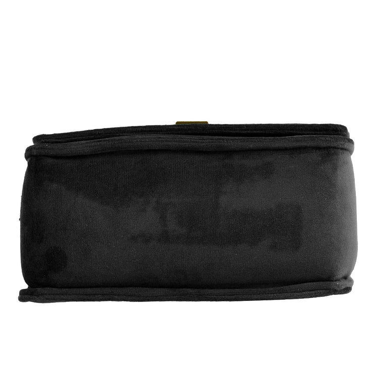Marc O'Polo Crossbody Bag Samt in Schwarz 9